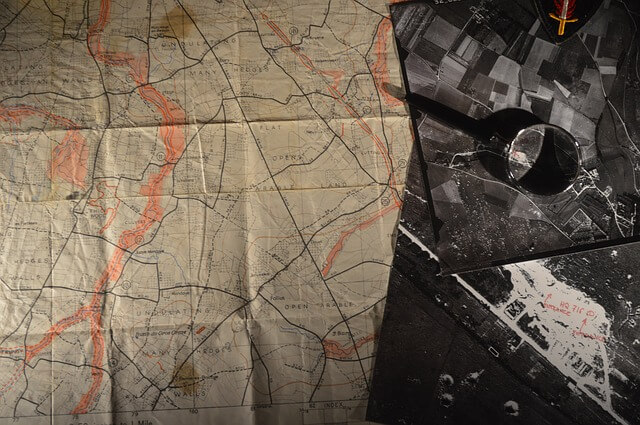 mapa militar strava