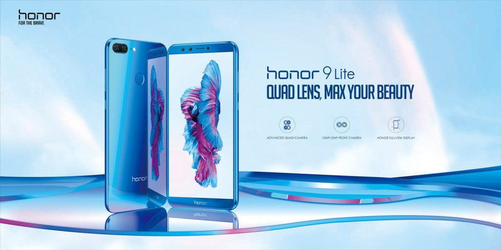 honor 9 lite promo