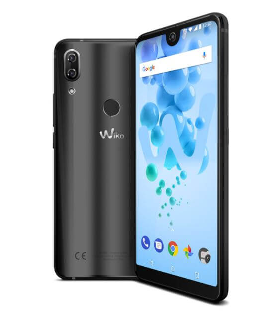 wiko view 2 frontal