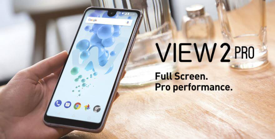 wiko view pro