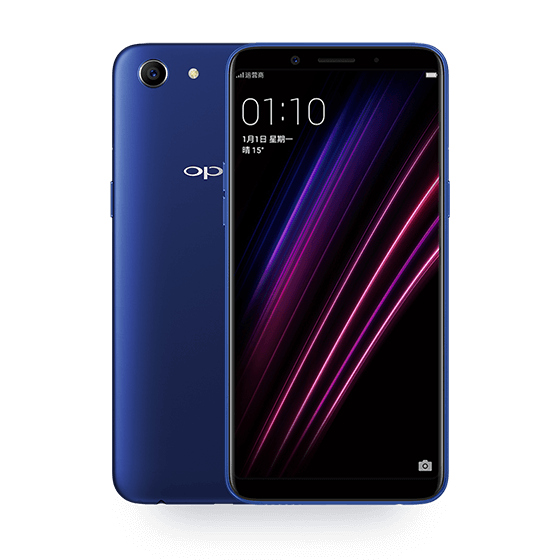 a1 blue oppo