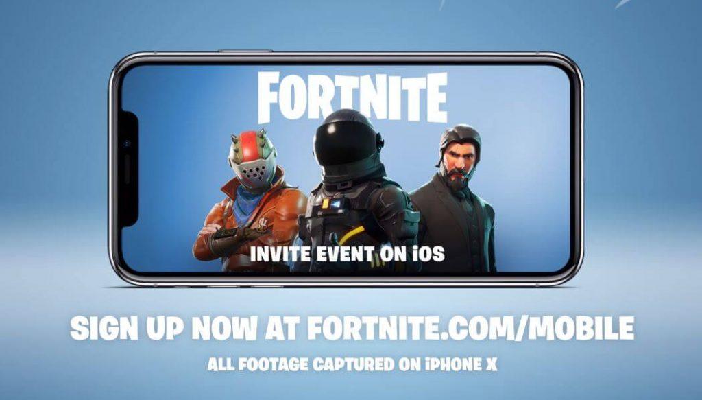 fornite app store