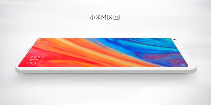 mi mix 2S lateral