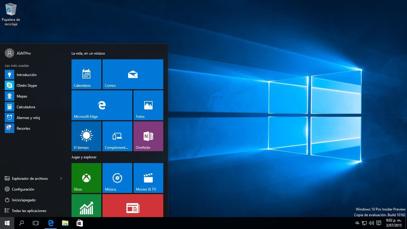 barra tareas windows 10