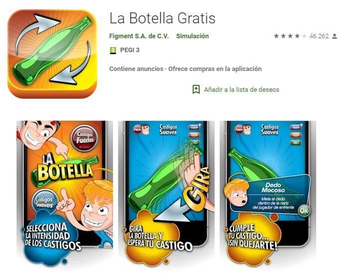 juego de la botella app