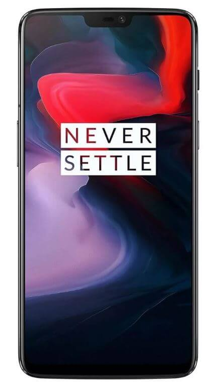 oneplus 6 frontal