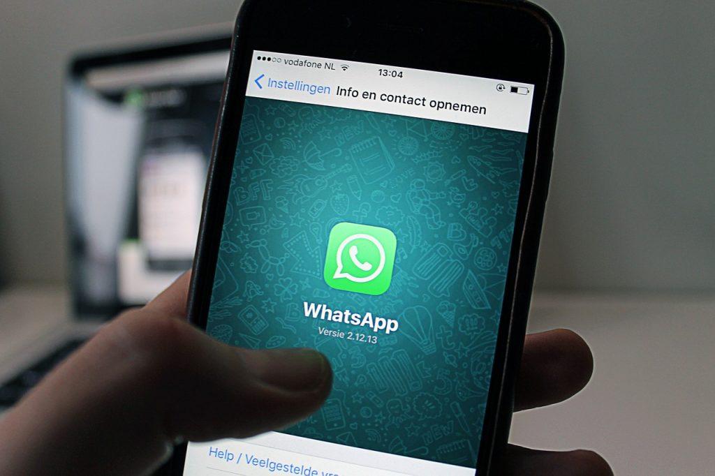 aplicación whatsapp ios