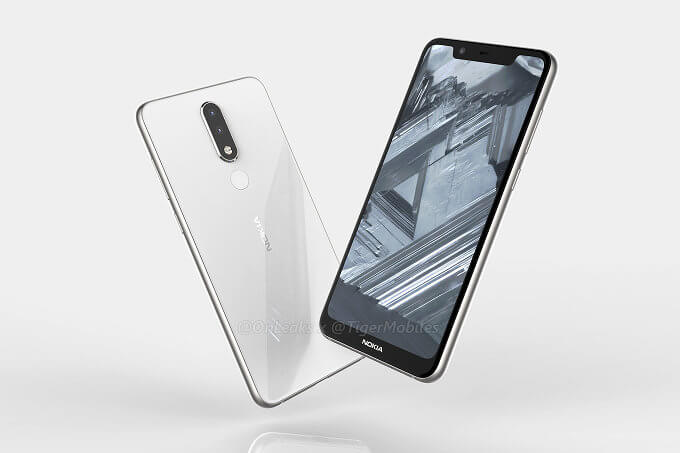 nokia 5.1 plus render onleaks tiger mobile