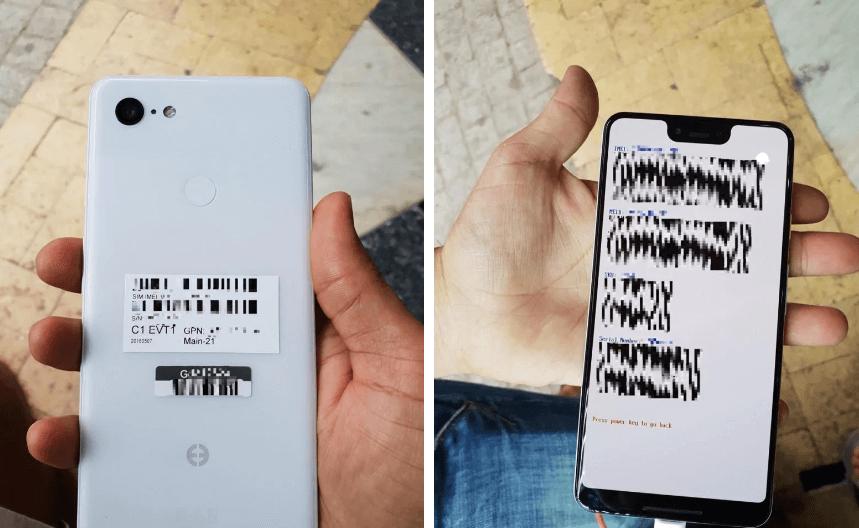 google pixel 3 leak1