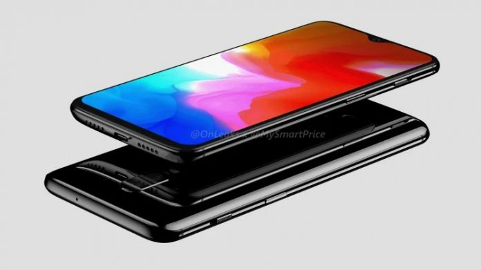oneplus 6t render lateral