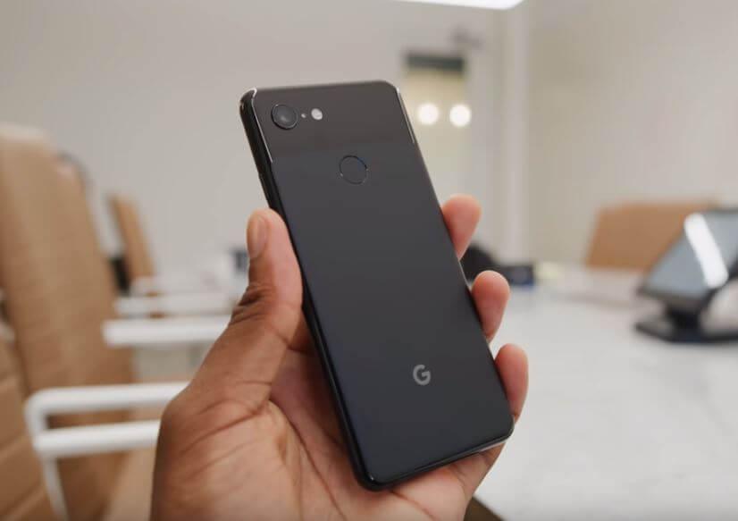 google pixel 3 trasera