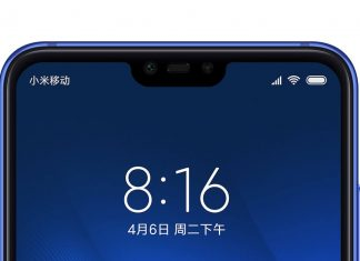 mi 8 lite notch