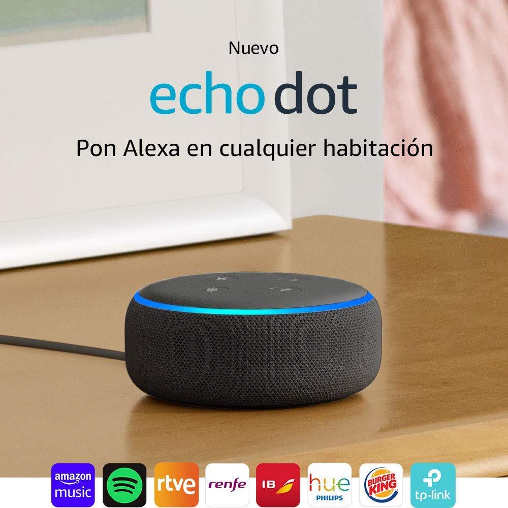 Echo Dot - Alexa Altavoz Inteligente (-42%)