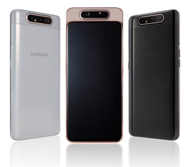 Colores Galaxy A80