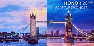 Honor 20 Series presentacion Londres