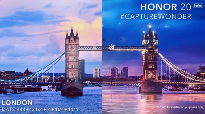 Honor 20 Series presentacion Londres