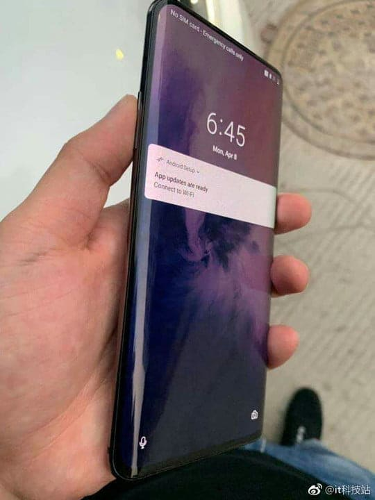 OnePlus 7 diseño filtrado 2