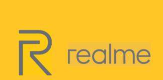 Realme logo banner