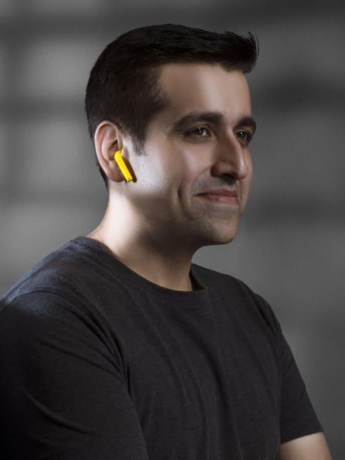 realme-auriculares-inalambricos-amarillos