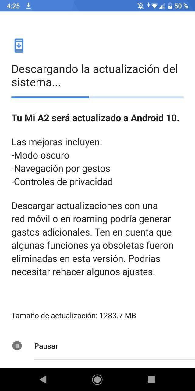 actualizacion-android-10-xiaomi-mi-a2