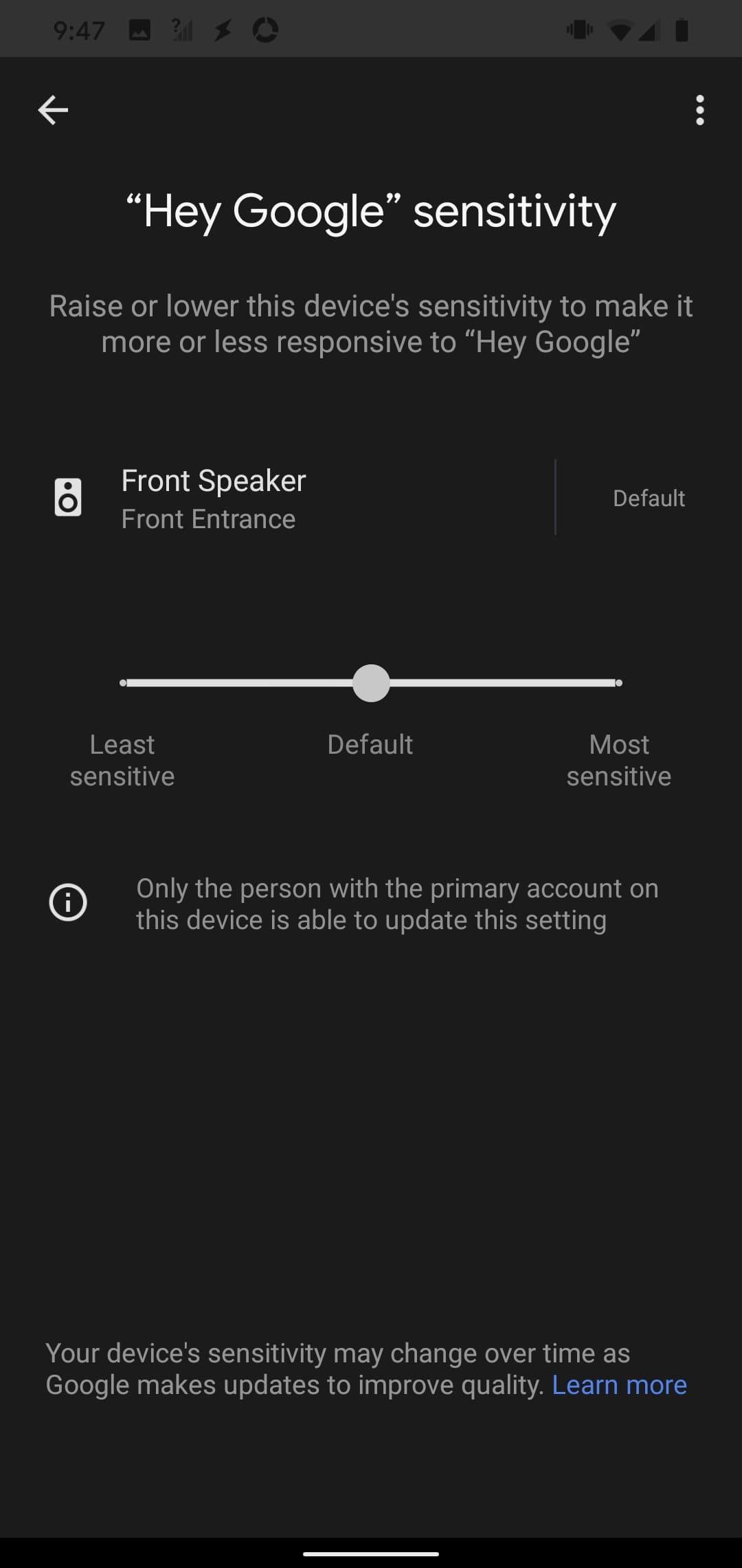 control-sensibilidad-dispositivos-google-assistant